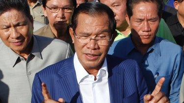 Cambodian Prime Minister Hun Sen wants the exiled opposition leaders jailed.