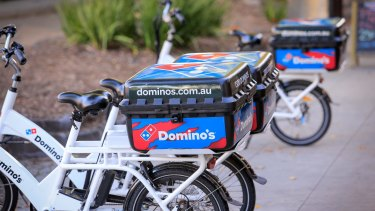 Domino's boss Don Meij said new menu items would help it meet guidance.