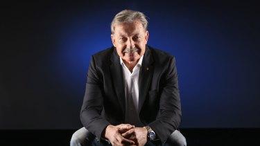 Swimming Australia chairman John Bertrand.