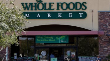 Amazon also owns Whole Foods.