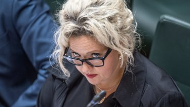 Attorney-General Jill Hennessy, pictured in Parliament, said more lawyers had acted as police informers.