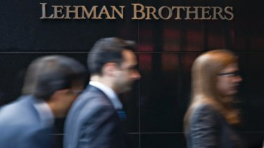 Light regulation of dramatic innovations: the collapse of Lehman Brothers was seen as the trigger for the 2008 global financial crisis.
