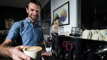 Ona Coffee owner Sasa Sestic with another award winning roast.