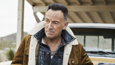 Bruce Springsteen's new songs are romantic, story-rich and semi-mythic.