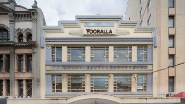 The Yooralla building at 248 Flinders Street, Melbourne.