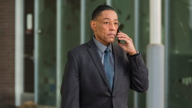 Gus Fring (Giancarlo Esposito) in a scene from Better Call Saul.