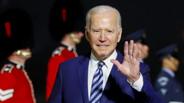 China is casting a big shadow over Joe Biden's trip to Europe.