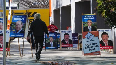 Pre-polling is a logistical nightmare for parties, which have to try to staff the booths for weeks ahead of the election to try to convince voters to choose them.