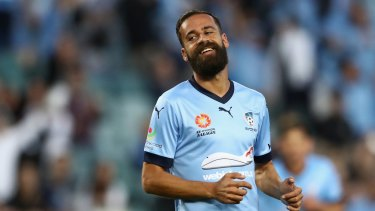 Alex Brosque helped build the winning mentality of Sydney FC.