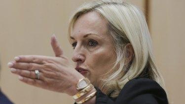 Former head of Australia Post, Christine Holgate.