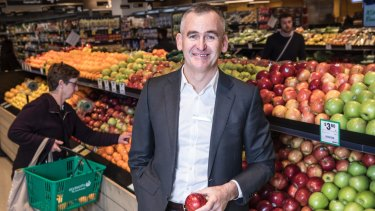 Woolworths CEI Brad Banducci said sales would bounce back later in the year.