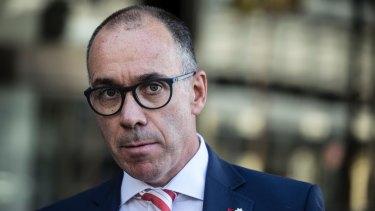 National Australia Bank CEO Andrew Thorburn has had a rough week.