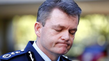 Australian Federal Police Commissioner Andrew Colvin.