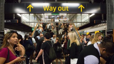 """The report reveals 'resentment and unhappiness"""" at Sydney Trains towards the lead agency, Transport for NSW."""