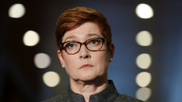 Foreign Minister Marise Payne has called for calm from all sides.