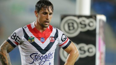 """""""He always backed me"""": Former Rooster Mitchell Pearce."""