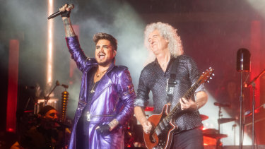 Rock icons Queen, with Adam Lambert, will headline the gig.