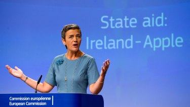 European Union Competition Commissioner Margrethe Vestager has made the tax crackdown on multinationals like Apple a centrepiece of her time in office.
