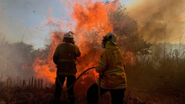 A hazard reduction burn last month grew out of control and threatened the town of Currarong on the NSW South Coast.