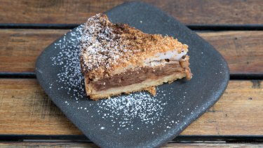Anna's famous apple cake from South Coogee's Lion and Buffalo is a perfect at-home afternoon treat.