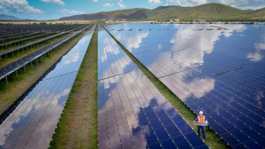 Sun Metals' 124MW solar farm in Queensland.