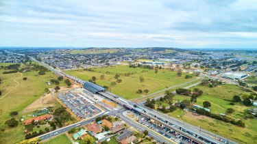 Woolworths paid just over $28 million in 2010 for the block on the corner of Plenty and Bridge Inn Roads.