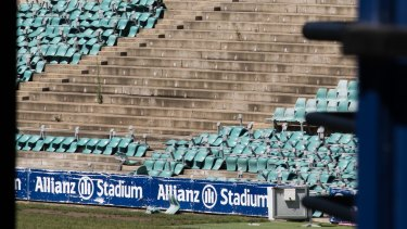 "Thousands of chairs have already been ripped from Allianz Stadium as part of ""soft demolition"" works."