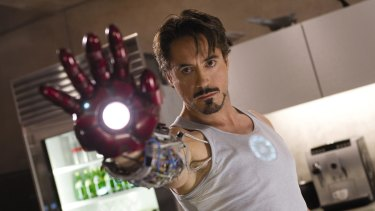 If at first you don't succeed: <i>Iron Man</i>'s Tony Stark (Robert Downey Jr) was an early inspiration.