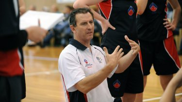 Former AIS coach Phil Brown has joined the Capitals.