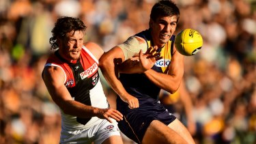 Jack Steven would benefit from playing with Andrew Gaff, not against him.