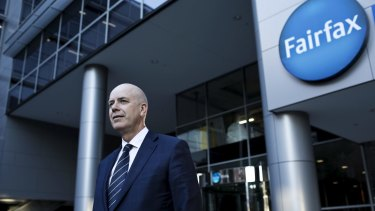 Fairfax chief executive Greg Hywood.