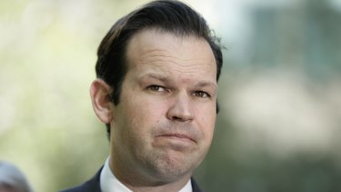 Minister for Resources and Northern Australia, Matt Canavan.