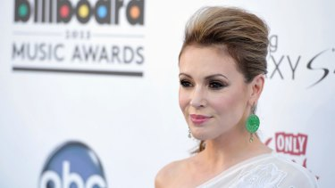 Actress Alyssa Milano kicked off the MeToo movement a year ago on Twitter.