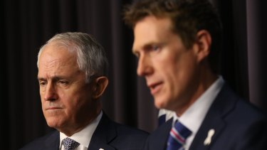 Then Attorney-General Christian Porter and then Prime Minister Malcolm Turnbull clashed over Turnbull's last-ditch plan to bring in the Governor-General.