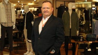 Myer CEO John King has a big task ahead.