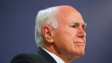 Former prime minister John Howard introduced tough gun laws.