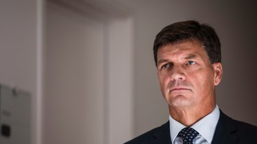 Federal Energy Minister Angus Taylor sidestepped questions over NSW's split with the government over energy and emissions policy.