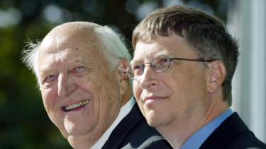 """""""Without me, you wouldn't even be here"""", Bill Gates snr quipped to his billionaire son."""