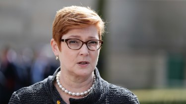 Foreign Minister Marise Payne.
