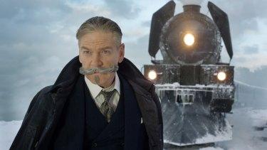 Kenneth Branagh in Murder on the Orient Express.