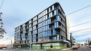 BPM's Collin & Queen apartment complex at 31-37 Keilor Road Essendon.