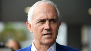 Former prime minister Malcolm Turnbull says he hopes the government enforces the foreign interference laws.