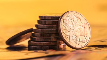 The Australian dollar tumbled below US72 cents overnight.