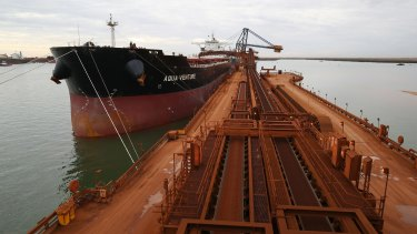 Australia is the world's top exporter of the steelmaking commodity iron ore.
