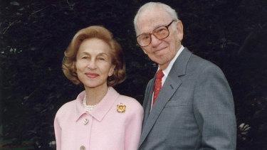 Ruth and Carl Shapiro.