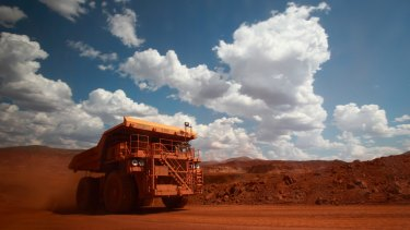 BHP has benefited from prices for iron ore passing $US110 a tonne.