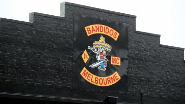 The Bandidos clubhouse in Brunswick is pictured in 2016.