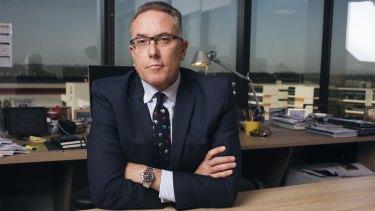 Foxtel boss Patrick Delany.