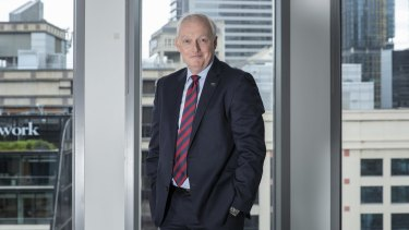 Perpetual chief executive Rob Adams goes global.
