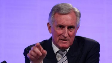 "John Hewson predicts Greg Hunt, Michael Sukkar, Peter Dutton and Tony Abbott will be challenged in their seats next election by ""significant individuals""."